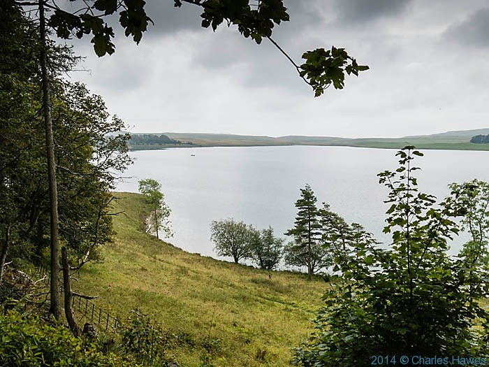 Malham Tarn, photographed from The Pennine way by Charles Hawes