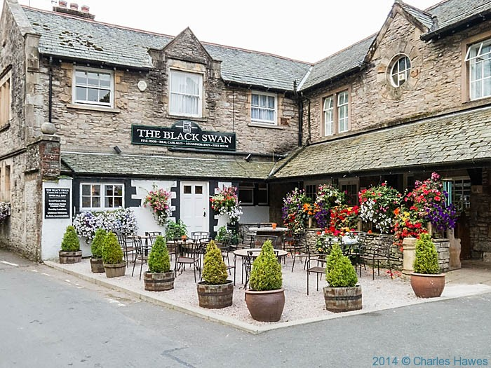 The Black Swan, Ravenstonedale, Photographed by Charles Hawes