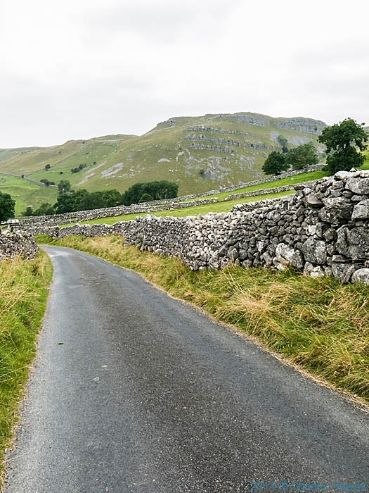 Hawthorne Lane, near Malham. photographed by Charles Hawes