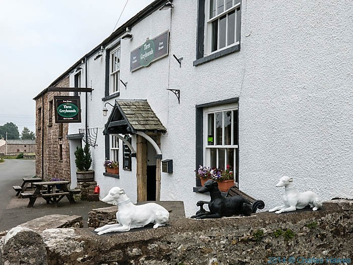 The Three Greyhounds, Great Asby, Cumbria, photographed by Charles Hawes