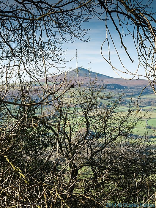View to Sugar Loaf (Y Fal) photographed from The Skirrid (Ysgyryd Fawr) by Charles Hawes