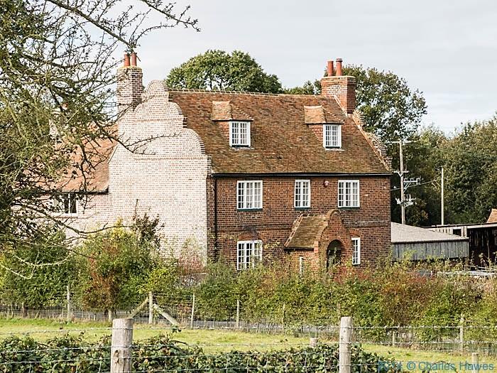 Higham farmhouse, near Canterbury, photographed by Charles Hawes