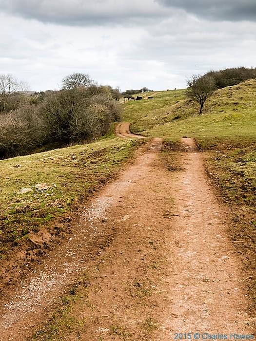The Rhymney Valley Ridgeway walk, photographed by Charles Hawes