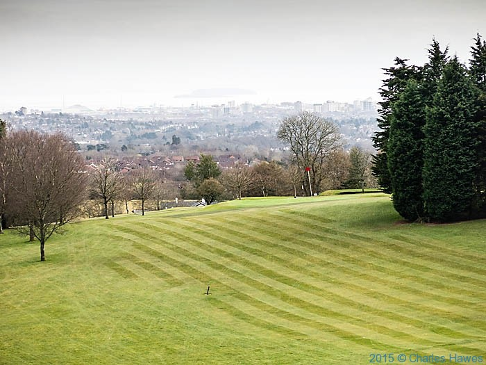 Llanishen Golf Course, Cardiff, photographed by Charles Hawes