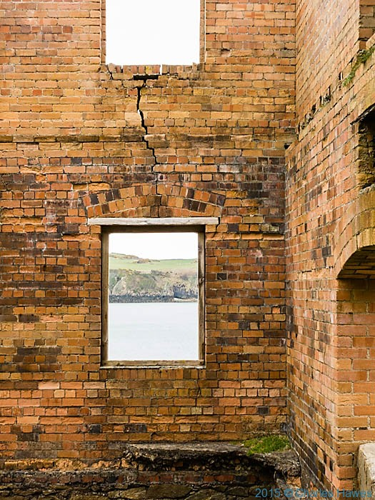The Borthwen Brickworks, Porth Wen, Anglesey, Wales photographed by Charles Hawes