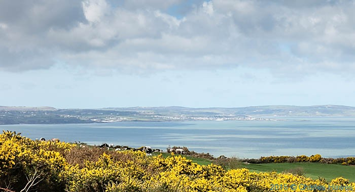 Red Wharf Bay, Anglesey, photographed from The Wales Coast Path by Charles Hawes