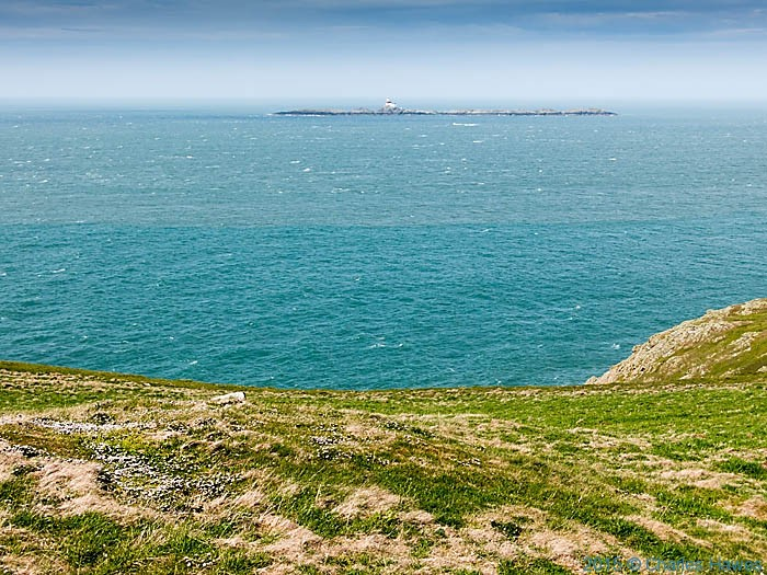The Skerries, photographed from The Wales Coast Path, Anglesey, by Charles Hawes