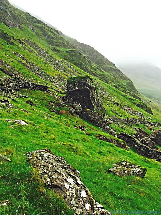 Near Moel Heborg, Snowdonia, photographed by Charles Hawes