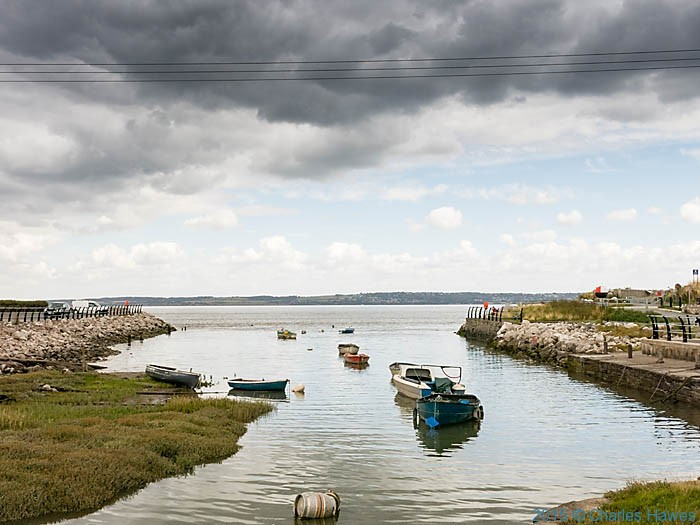 Greenfield Dock, photographed from The Wales Coast Path b y Charles Hawes