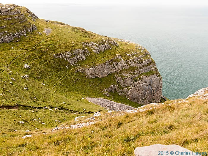 Great Orme, photographed from The Wales Coast Path by Charles Hawes