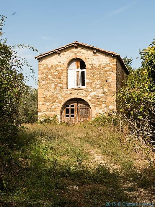 Casa Vignola near Badia a Passignano, Tuscany, photographed by Charles Hawes