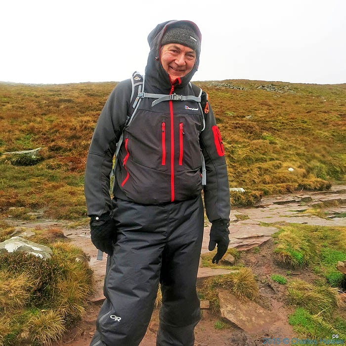 Charles Hawes wearing Berghaus Jorasses softshell from e-outdoor.co.uk