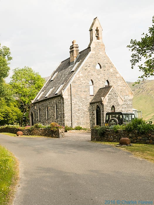 Converted Chapel in Inverie, Knoydart, photgraphed by Charles Hawes