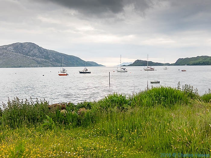 Inverie Bay, Knoydart, Scotland, photographed by Charles Hawes