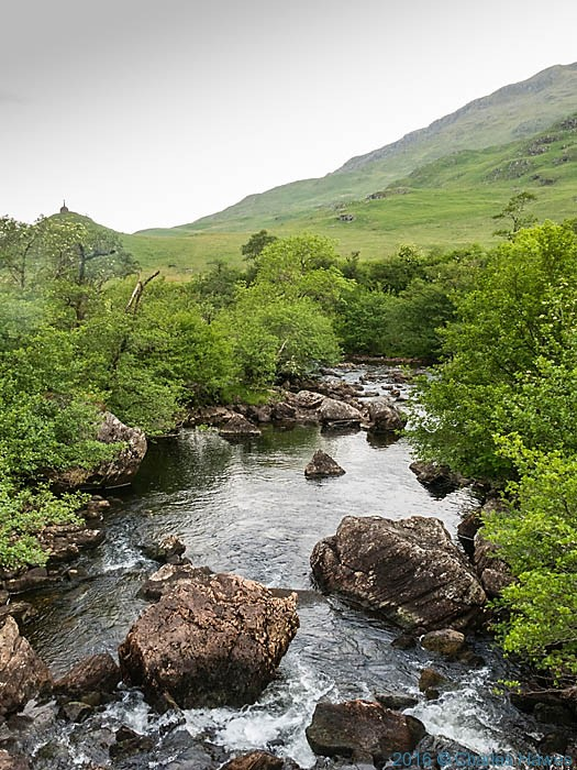 River Inverie, Knoydart, Scotland, photographed by Charles Hawes