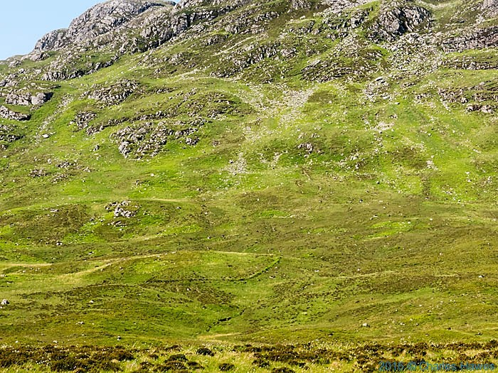 Sheepfold in Gleann na Guiserein, Knoydart, Scotland, photographed by Charles Hawes