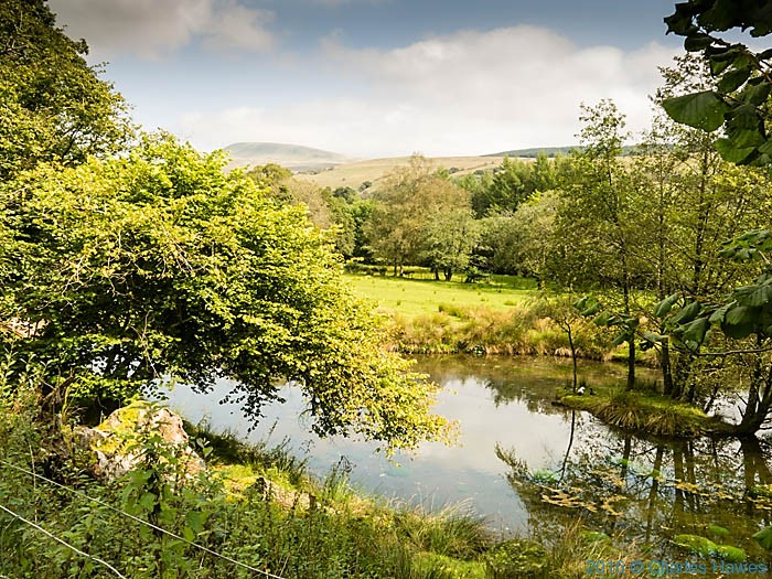 River Tawe on the Cambrian Way photographed by Charles Hawes