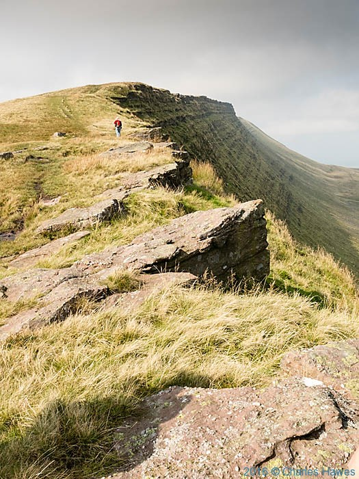 Fan Hir on the Cambrian Way, Wales, photographed by Charles Hawes