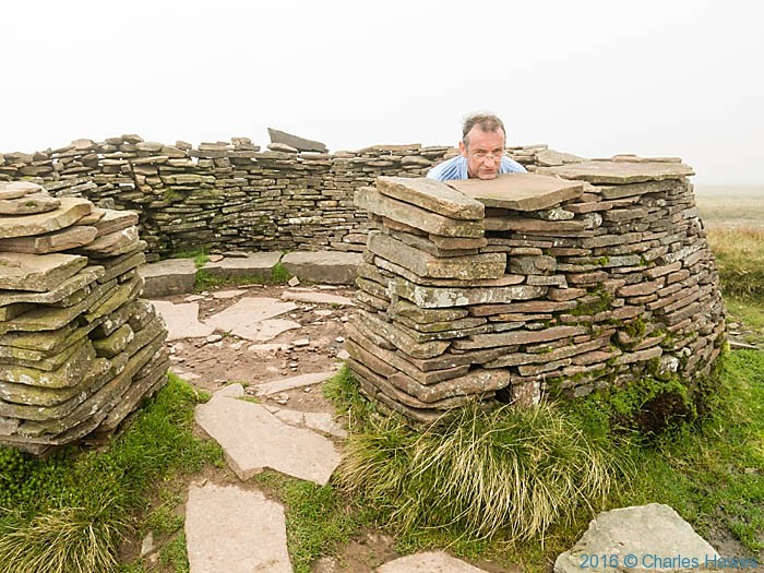 Shelter Fan Brycheiniog near on the Cambrian Way, photographed by Charles Hawes