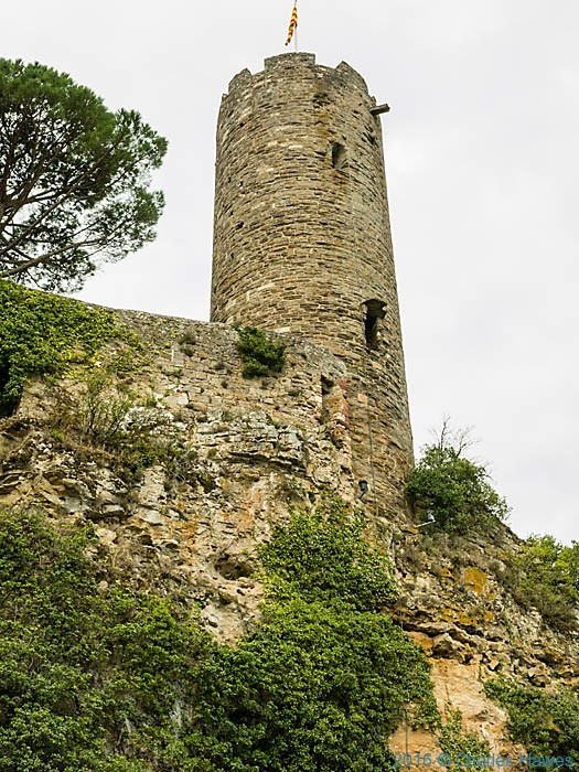 Cesar's tower, Turenne, France, photographed by Charles Hawes