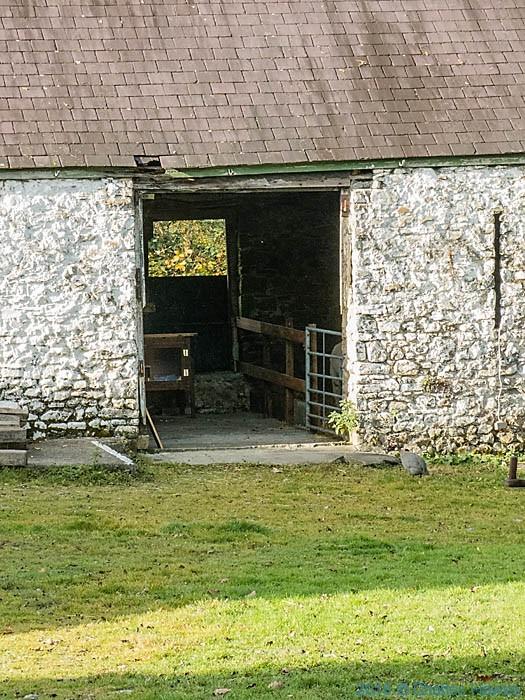 Gwernpwll farm, near Rhandirmwyn, Carmarthenshire photographed from the Cambrian Way by Charles Hawes