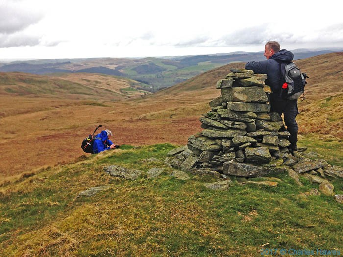 Domen Milwyn on the Cambrian Way - photographed by Neil, Smurthwaite