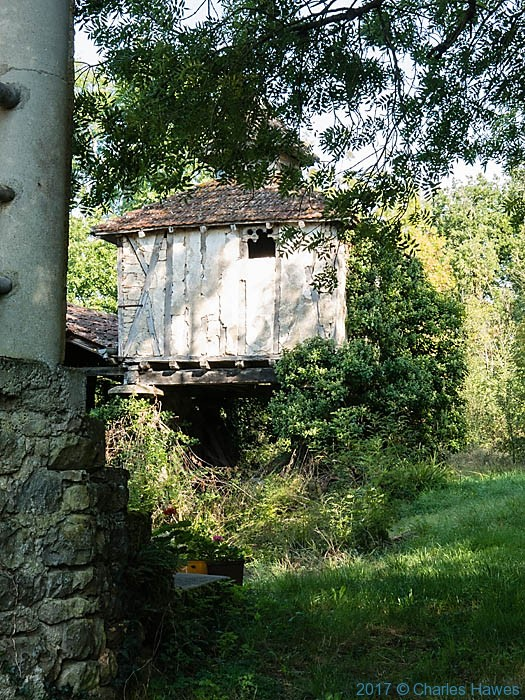 Pigeonnier in Belaygue, France, photographed by Charles Hawes