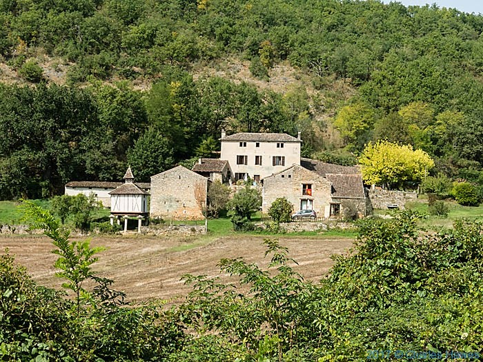 L'Hermitage, near Penne, France, photographed by Charles Hawes
