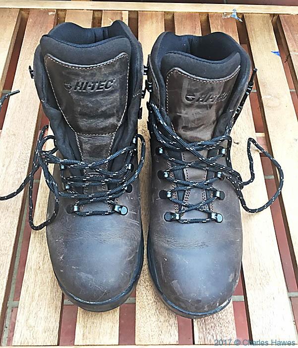 Boots – again   Charles Hawes - Walking