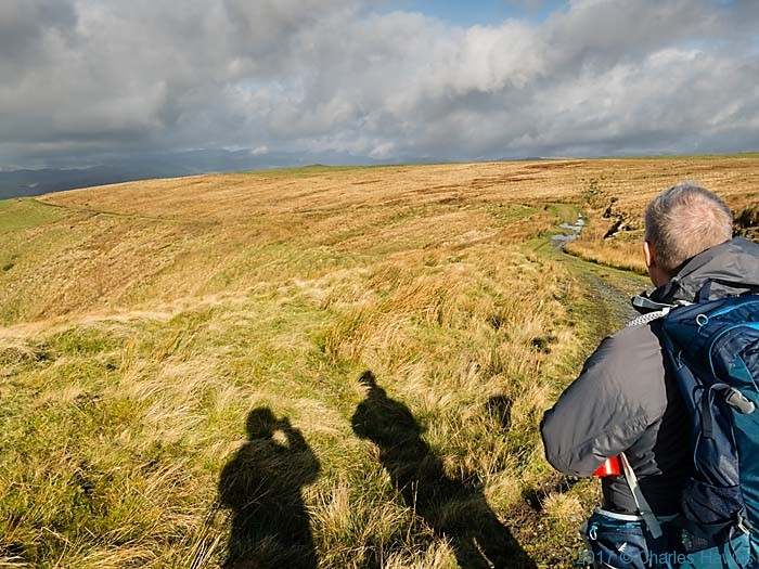 Cambrian Way, near Dylife, photographed by Charles Hawes