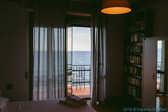 Apartment in Imperia; image by Charles Hawes