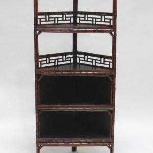 Bamboo Corner Bookcase