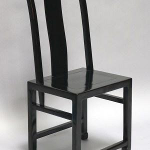 Black Lacquer Chair