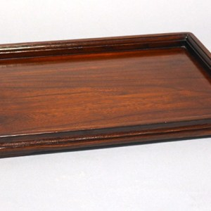 Elm Wood Lacquered Tray