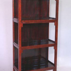 Elm Wood Bookshelf, Shanxi Province, China c. 1870