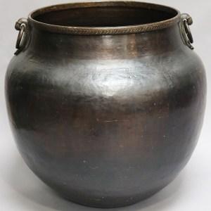 Brass Bird Handle Water Pot