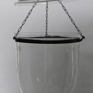 Etched Star Glass Hundi