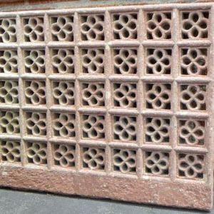 Red Sandstone Jali from Agra, India