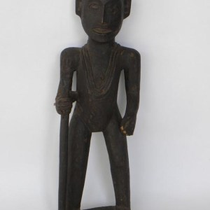 Carved Wooden Figure