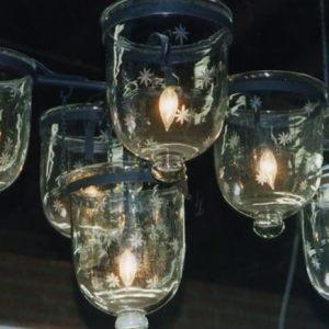 Five Light Hundi Chandelier, India