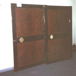 Lacquered Keyaki Door