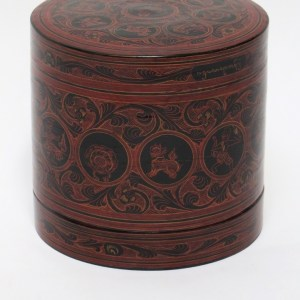 Bagan Style Lacquered Betel Box