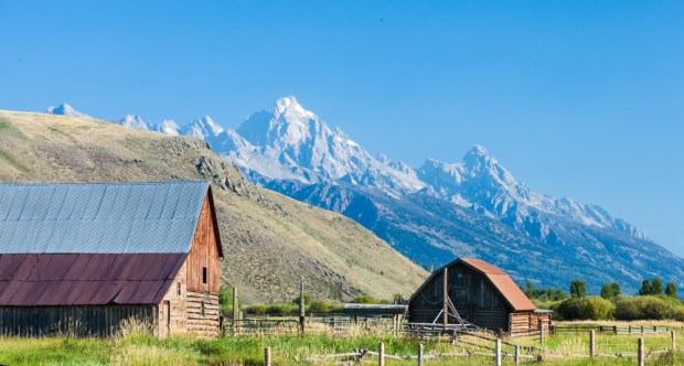 Spring Gulch Road, Jackson, Wyoming