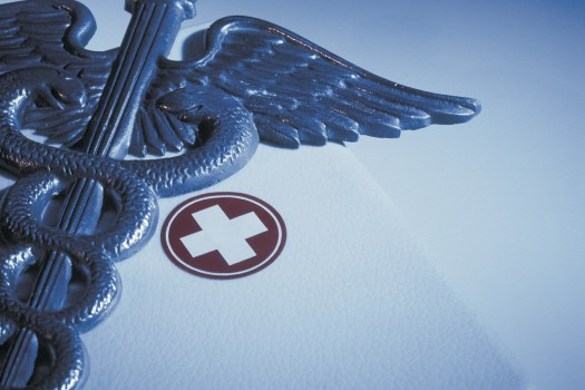 Caduceus with First-aid Kit