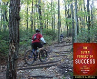 Mountain Biking Picture with Seven Powers Book Cover
