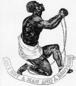 Official Medallion of the British Anti-Slavery Society by Josiah Wedgwood, 1795