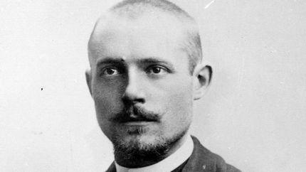 Charles Péguy (1873-1914), écrivain français.