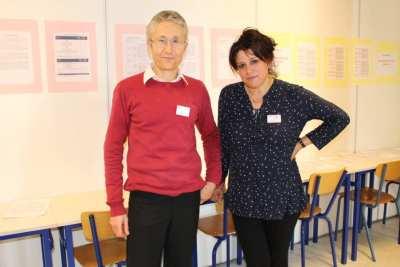 La section Economique et Sociale : M TOUCHELAY et Mme CHIKH