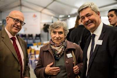 M BEIGNIER ävec Elisabeth ALLEMAND et Stéphane THIEBAUT