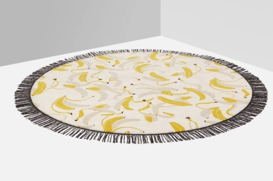 Charles Ray and Coco - Milan 2016 - Blog deco - Tapis Thanks a bunch - Studio Job